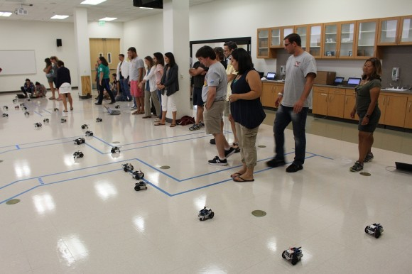 Chapman anaheim science project uses robots and coding to
