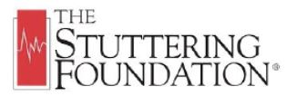 The Stuttering Foundation Logo