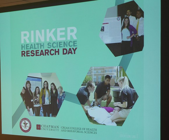 1st Annual Health Science Research Day - Held at
