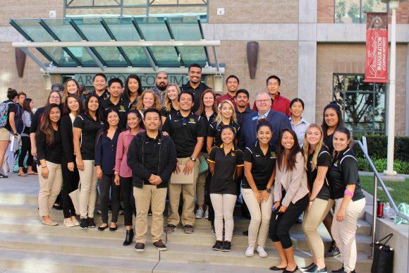 NATA President with CSU Long Beach AT Undergraduate Students