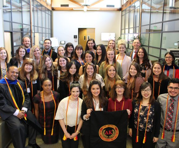 MFT Program Opens National Society Chapter - Delta Kappa,