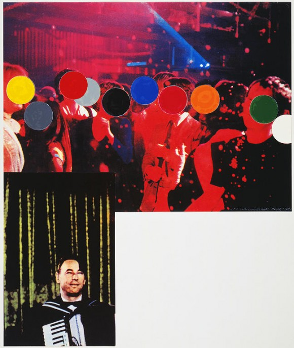 John Baldessari, Accordionist (With Crowd)