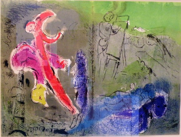 Vision of Paris, by Marc Chagall
