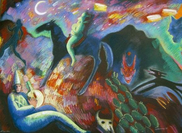 """""""Southwest Song"""" by Carlos Almaraz"""
