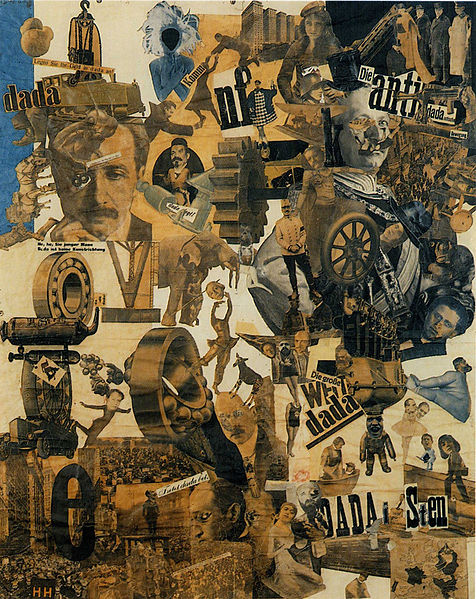"Hannah Höch, ""Cut with the Dada Kitchen Knife through the Last Weimar Beer-Belly Cultural Epoch in Germany,"""