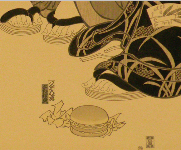 Masami Teraoka - Contemporary Issues Through a Ukiyo-e Lens