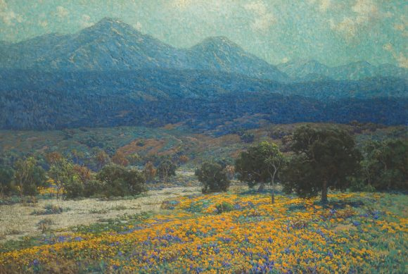 Granville Redmond, California Poppy Field, 1926.
