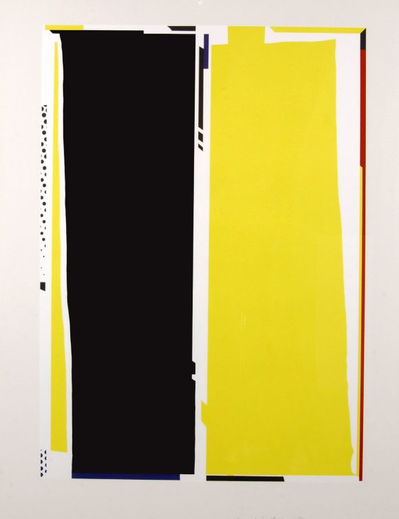 Roy Lichtenstein, Mirror #5, Lithograph, 1972