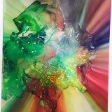 Colorful print by Maya Freelon