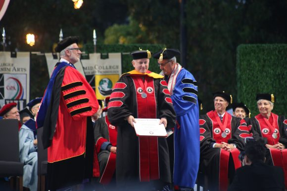 Dr. Grabenstein Receives Honorary Degree from CUSP