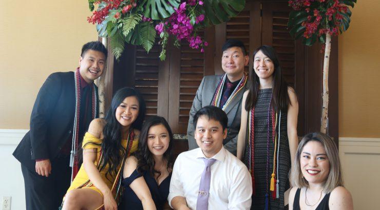 PhamrD students at CUSP Graduation Awards Banquet