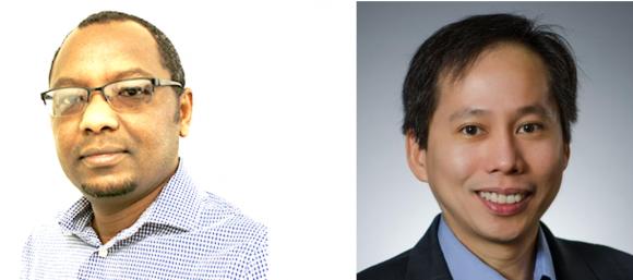 Drs. Ashraf Mohieldin and Surya Nauli