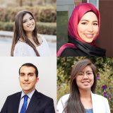 Rabka Gajiani, Nadine Saab, David Salehi and Courtney Wong