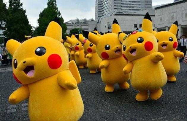 Pokemon Running