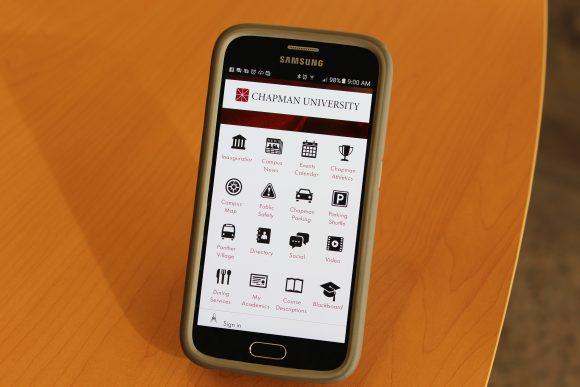 CU Mobile home screen