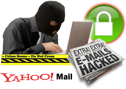 Robber on laptop
