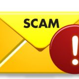 student email scam banner