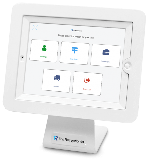 visitor management iPad