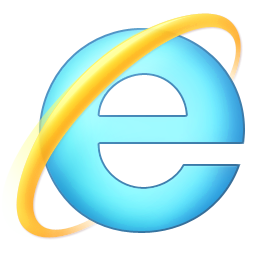 Web Browser Logo - IE