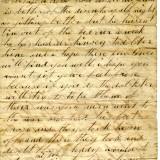Old letter.