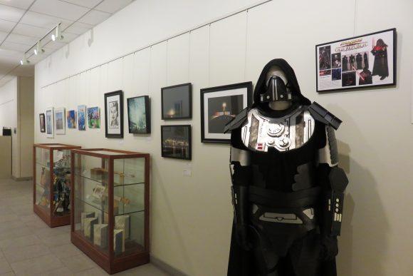 Staff Art Hallway