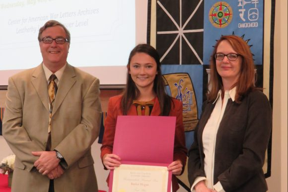 Ross Undergraduate Research Prize Winner