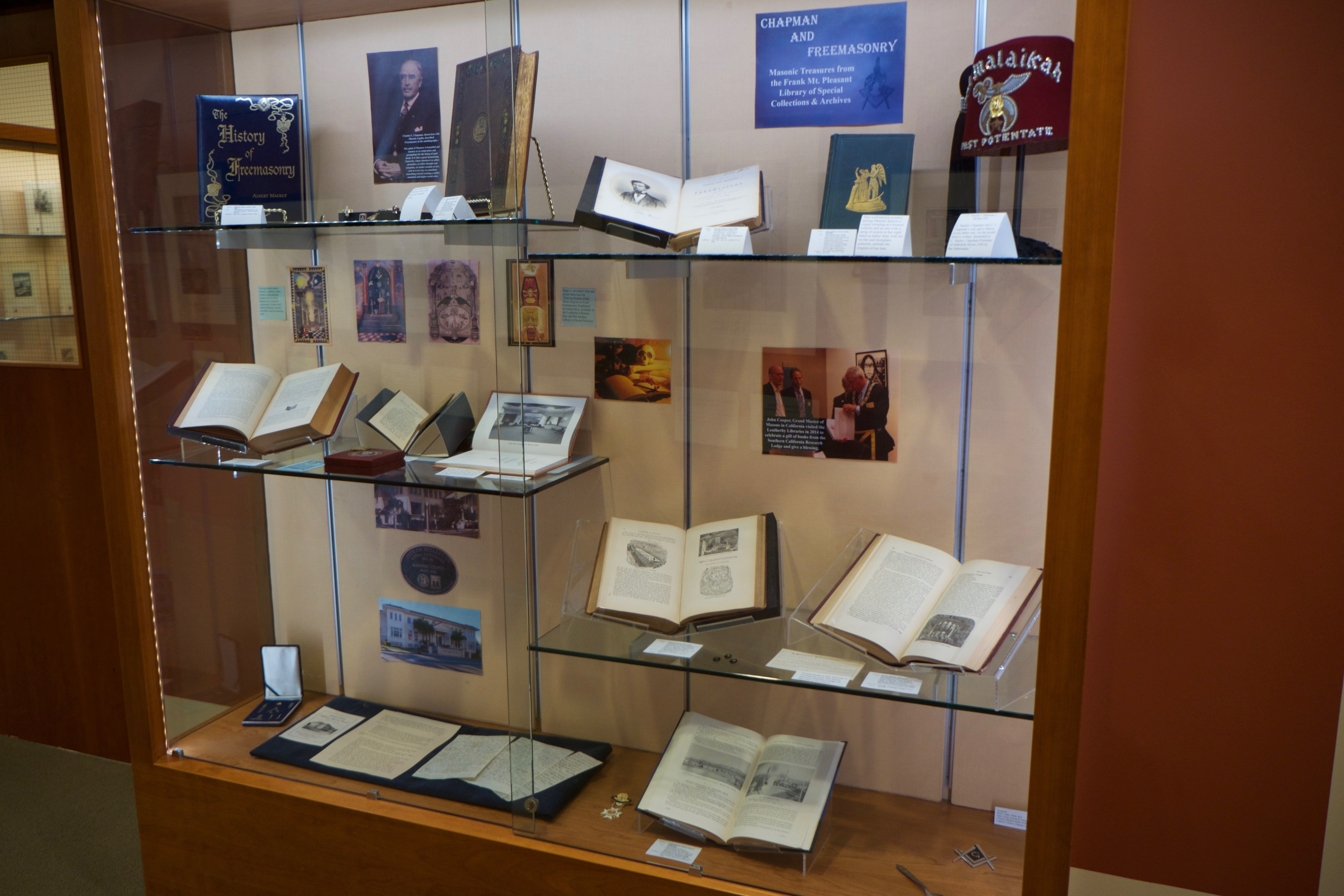 Special Collections Produces Four New Exhibitions - Masonic