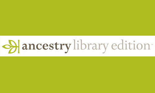 Image result for ancestry library edition logo