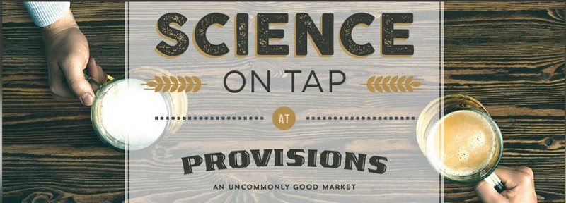 Science on Tap evnets shown throughout