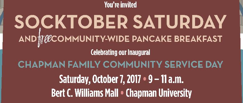 Socktober Saturday is October 7, 2017!