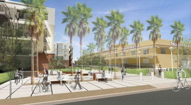 VPO rendering of new residence hall