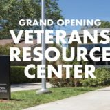 Celebrate the Grand Opening of the Veterans Resource Center