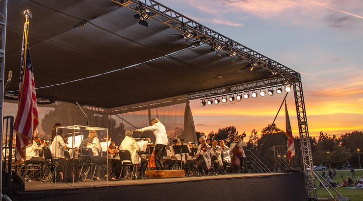 Pacific Symphony performance of Symphony in the Cities in 2018
