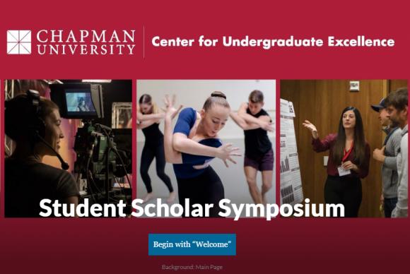 Student Scholar Symposium Virtual Portal