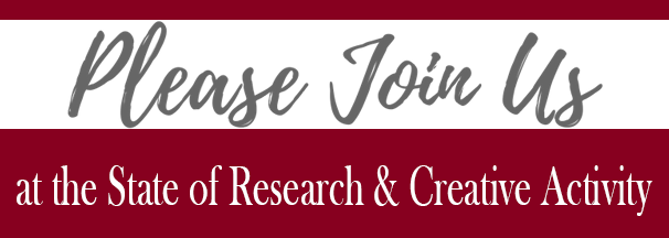 Join us at the State of Research & Creative Activity