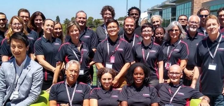 Chapman University researchers at grant writing workshop participants