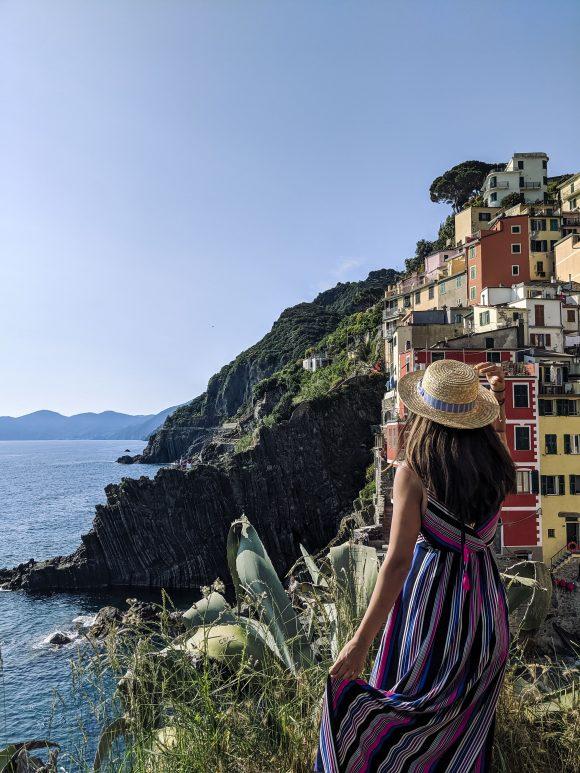 Rachel in Italy