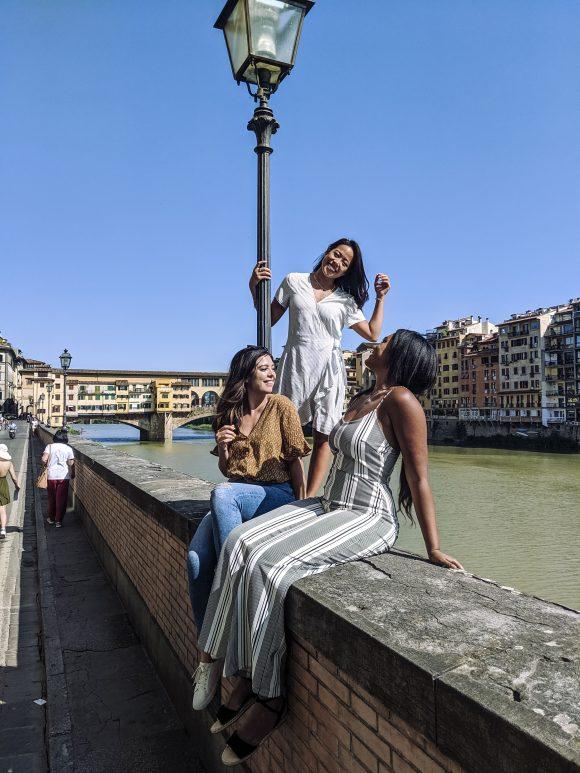 Rachel in Florence