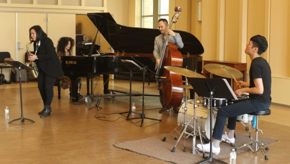 Taiwan jazz quartet