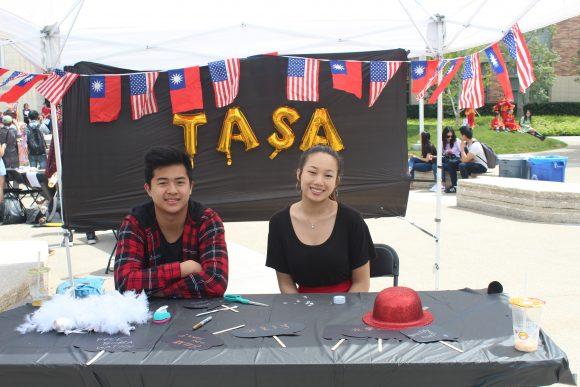 TASA table at fair