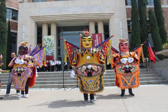 Taiwan cultural fair performance