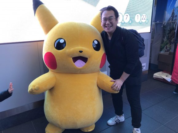student and Pikachu