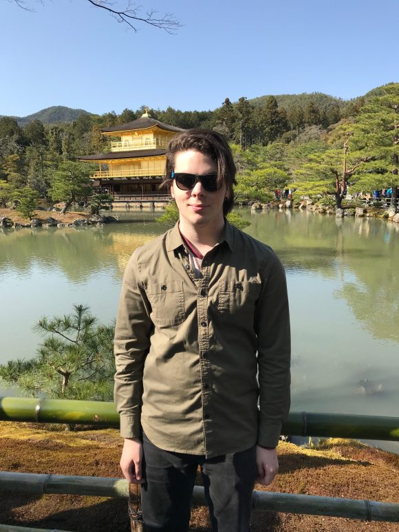 Student in Kyoto, Japan
