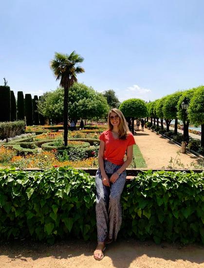 Student in Seville, Spain