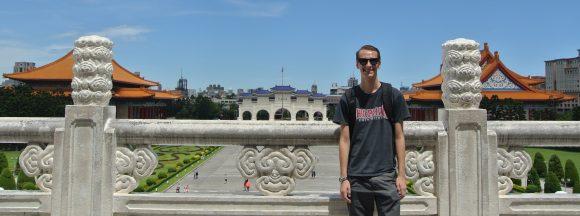 Student in Taipei, Taiwan