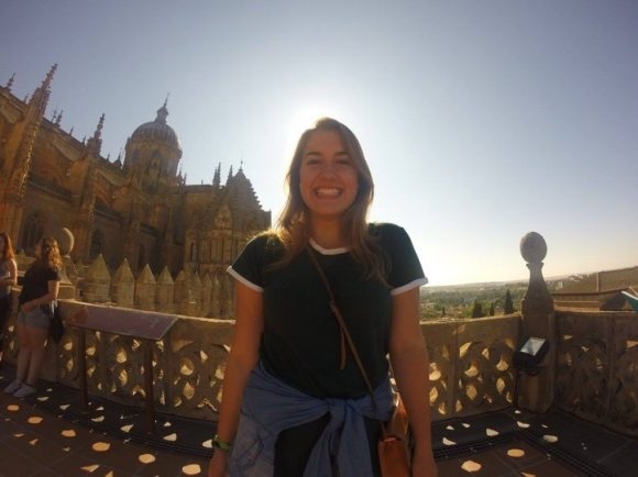 Katie in Spain