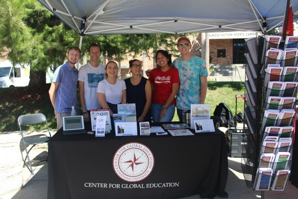 Center for Global Education student workers