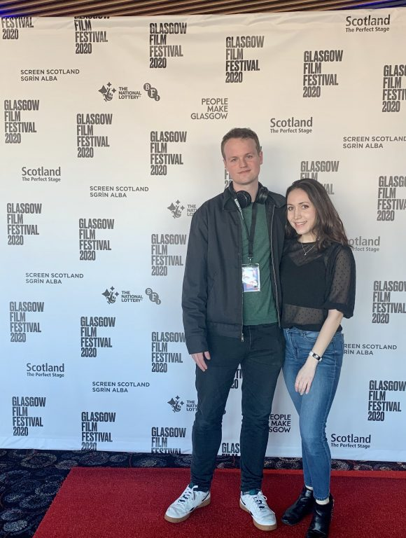 Students at Glasgow film festival
