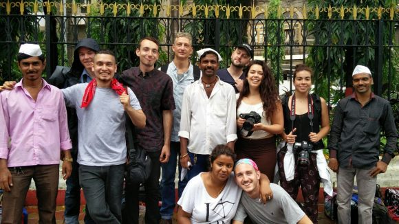 Students on India Travel Course